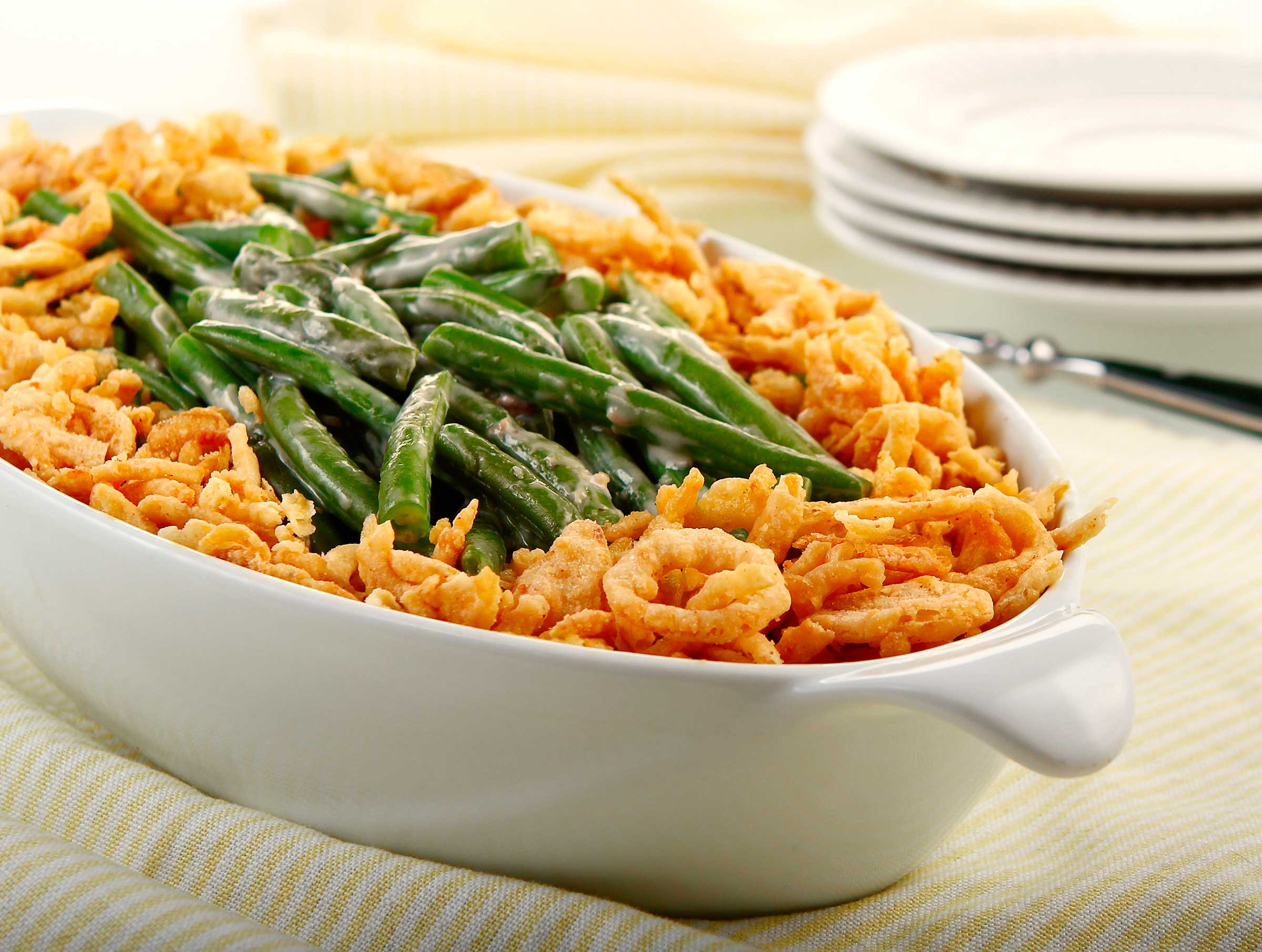 Green Bean Caserole  Best and Worst Thanksgiving Foods for Weight