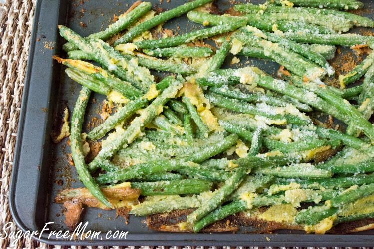 Green Bean Recipe Oven  Oven Fried Garlic Parmesan Green Beans