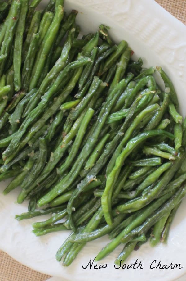 Green Bean Recipe Oven  Oven Roasted Green Beans New South Charm