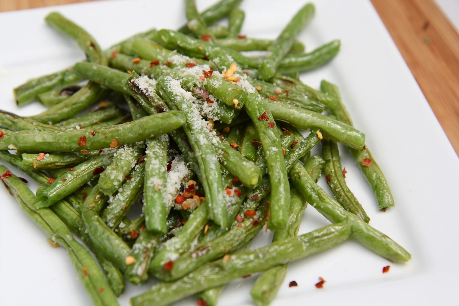 Green Bean Recipe Oven  Roasted Fresh Green Beans Recipe Parmesan Garlic