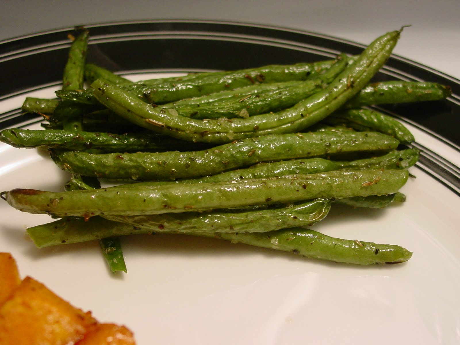 Green Bean Recipe Oven  e Day At A Time From My Kitchen To Yours Oven Roasted
