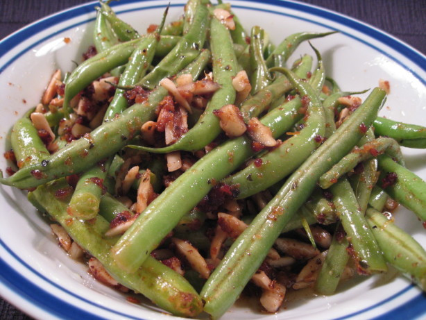 Green Bean Recipe Oven  Oven Roasted Green Beans Recipe Food