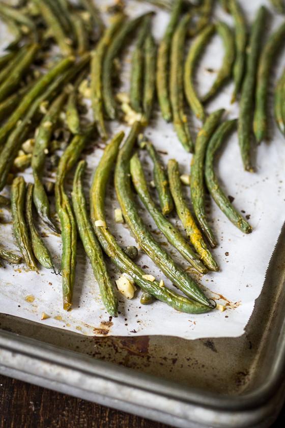 Green Bean Recipe Oven  Best Ever Oven Roasted Green Beans The Wanderlust Kitchen