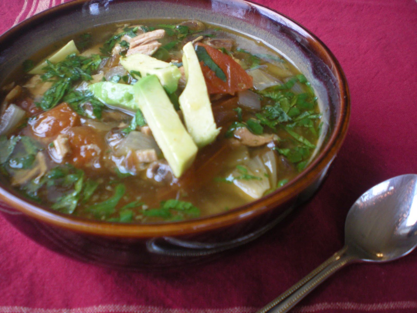 Green Chili Chicken Soup  Green Chile Chicken & Lime Soup