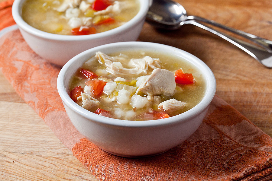 Green Chili Chicken Soup  Green Chile Chicken Soup