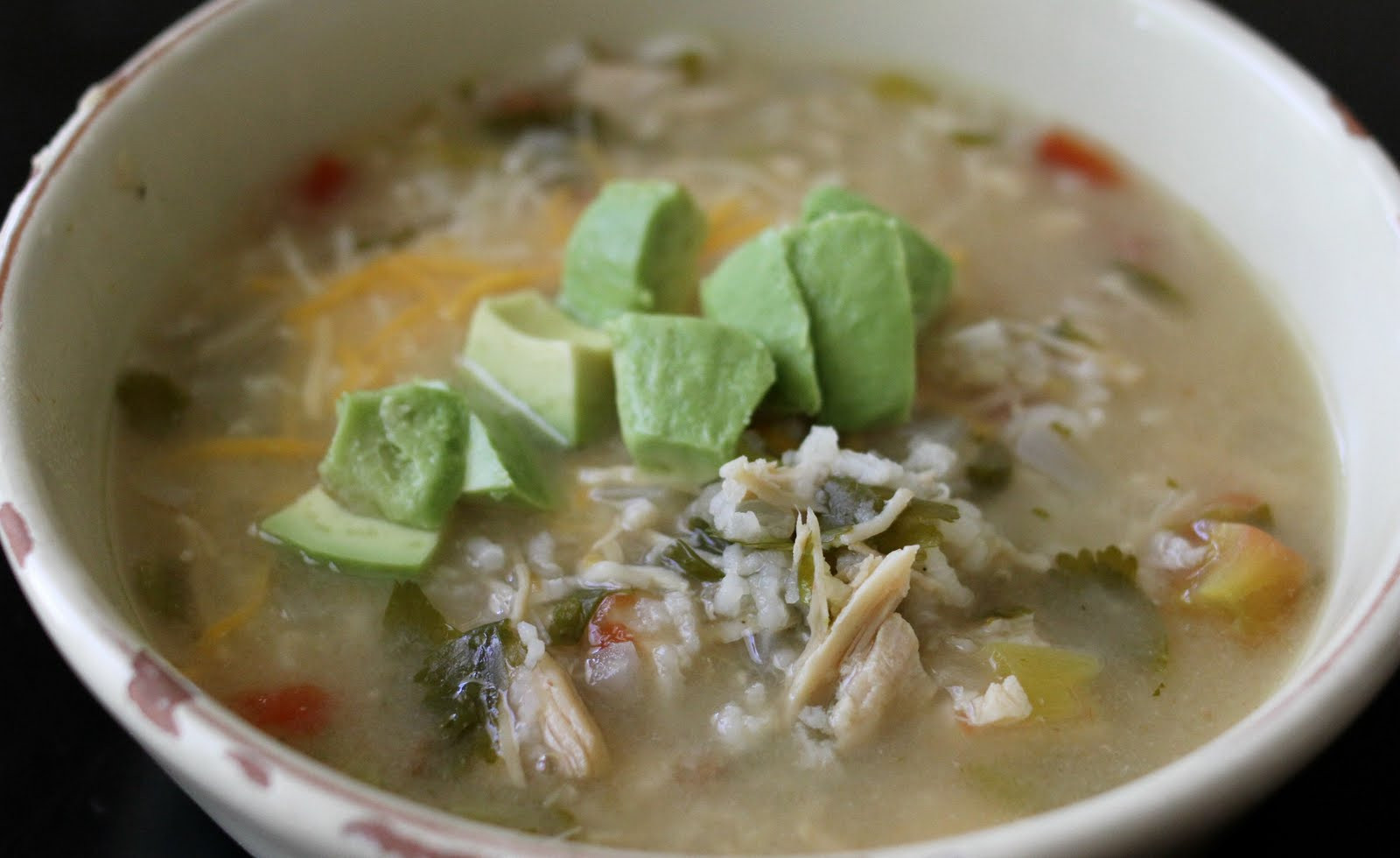 Green Chili Chicken Soup  My Menu Green Chili Chicken & Lime Soup