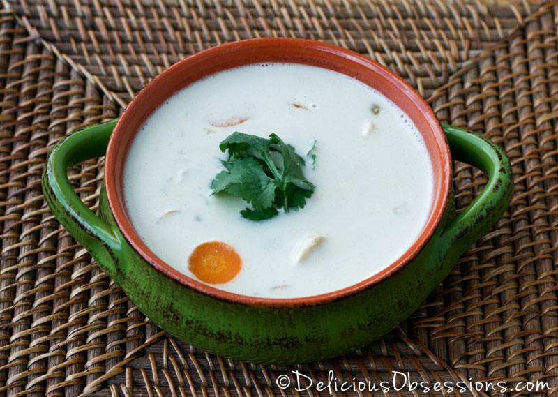 Green Chili Chicken Soup  Creamy Coconut Green Chili Chicken Soup