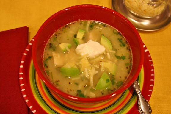 Green Chili Chicken Soup  Green Chile Chicken Soup – Fran s Favs