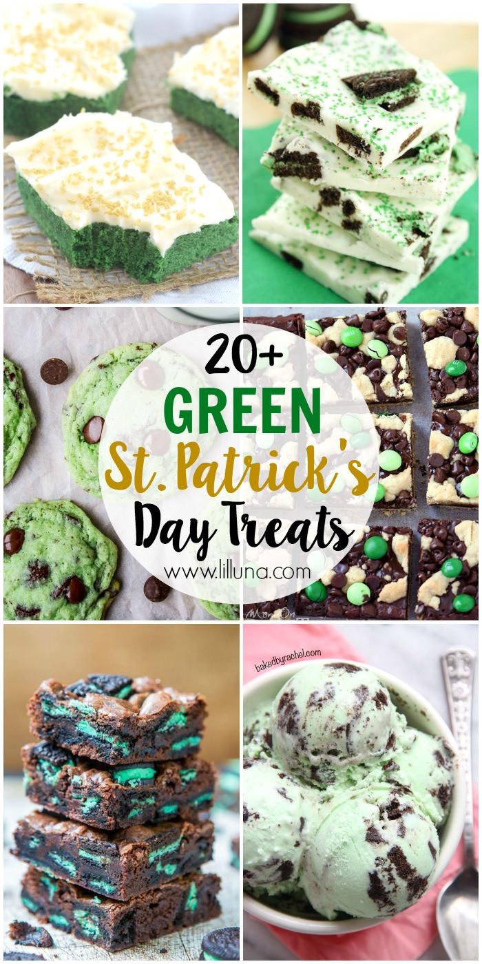 Green Desserts For St Patrick'S Day  20 St Patrick s Day Green Treats Lil Luna