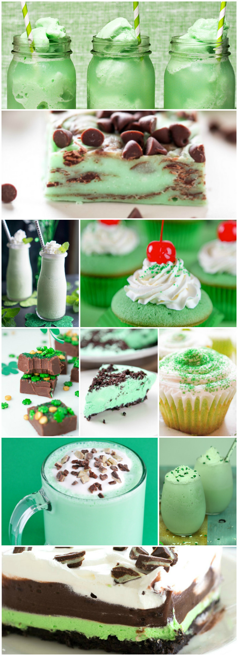 Green Desserts For St Patrick'S Day  21 Green Desserts for St Patrick's Day