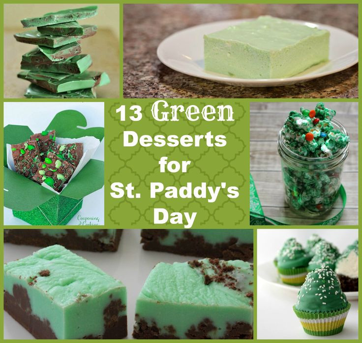 Green Desserts For St Patrick'S Day  78 best images about St Patricks day on Pinterest