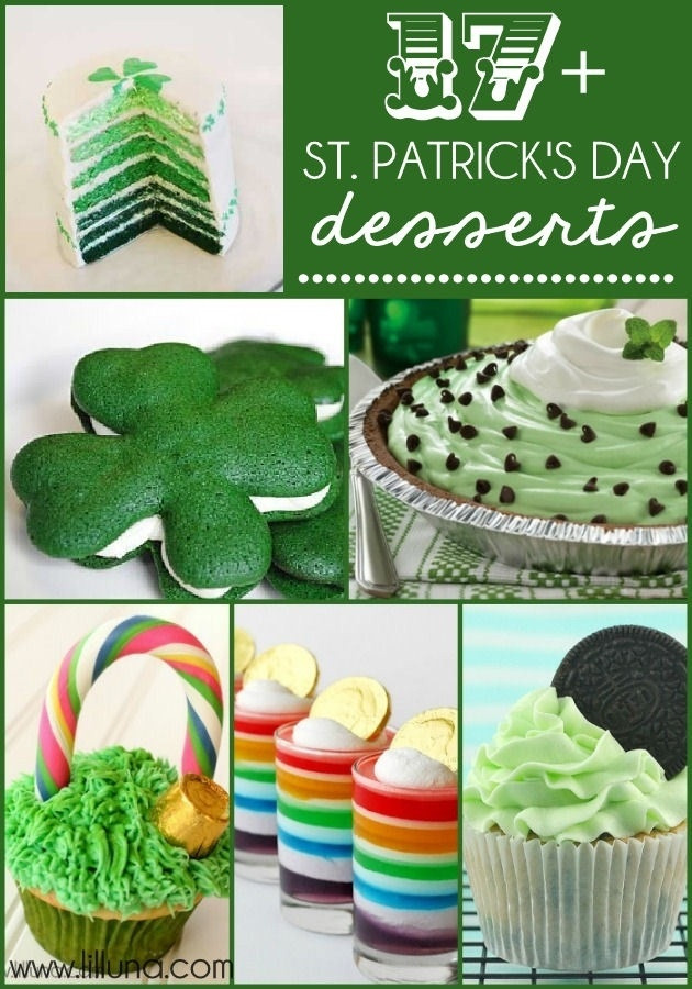 Green Desserts For St Patrick'S Day  17 Best images about St Pat s Day on Pinterest