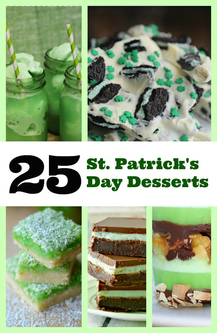 Green Desserts For St Patrick'S Day  25 St Patrick s Day Dessert Recipes SINCERELY MINDY