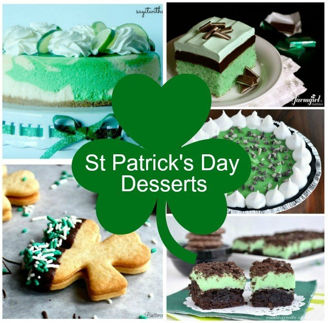 Green Desserts For St Patrick'S Day  St Patrick s Day Desserts