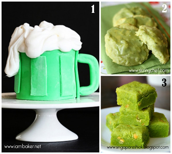 Green Desserts For St Patrick'S Day  Green Treats for St Patrick s Day CakeWhiz