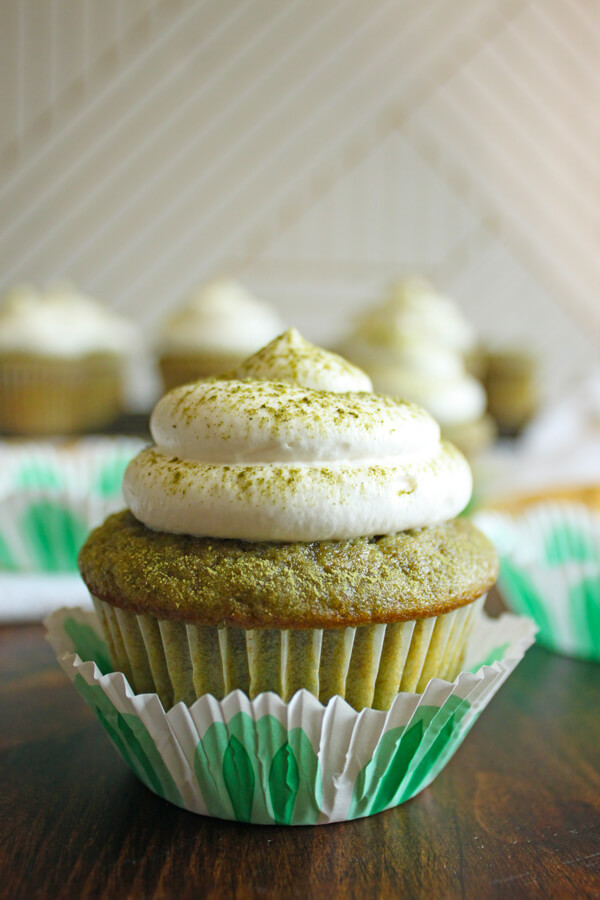 Green Tea Cupcakes  Matcha Green Tea Cupcakes Wild Wild Whisk
