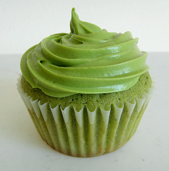Green Tea Cupcakes  Green Tea Cupcakes sweetest kitchen