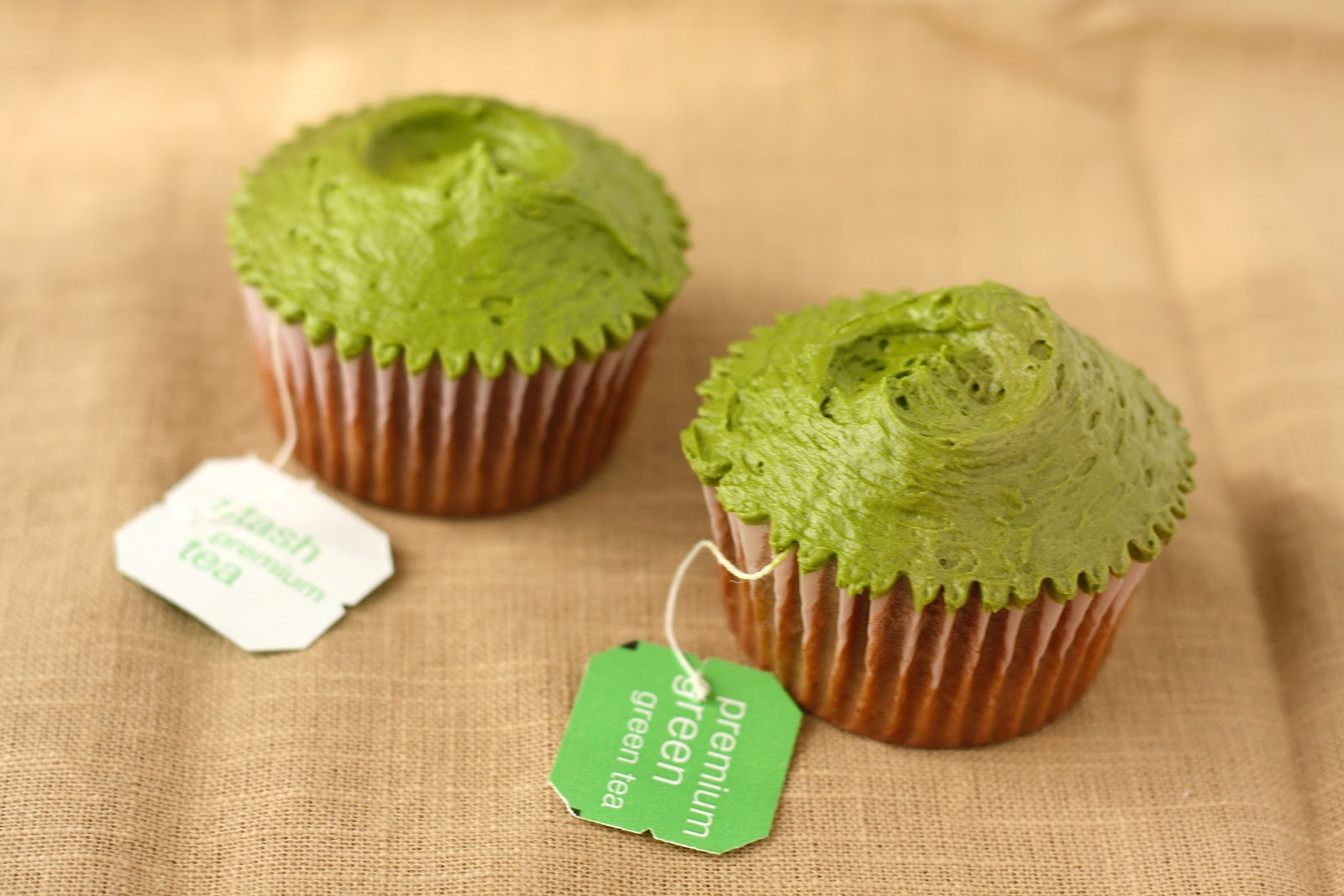 Green Tea Cupcakes  Hummingbird Bakery Green Tea Cupcakes Recipe Adapted for