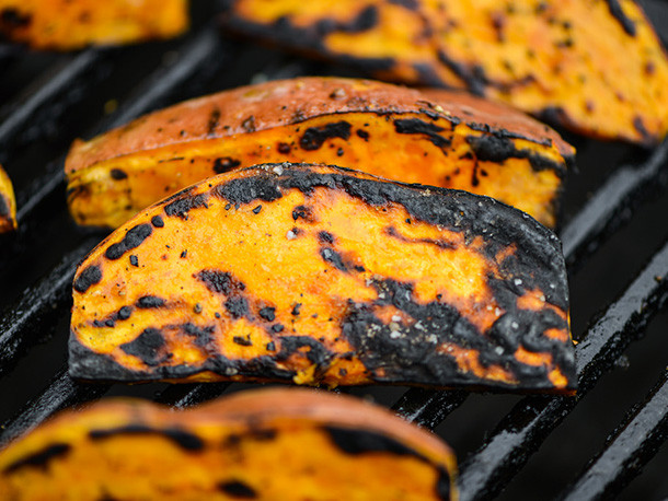 Grill Sweet Potato  Grilling Sweet Potato Wedges