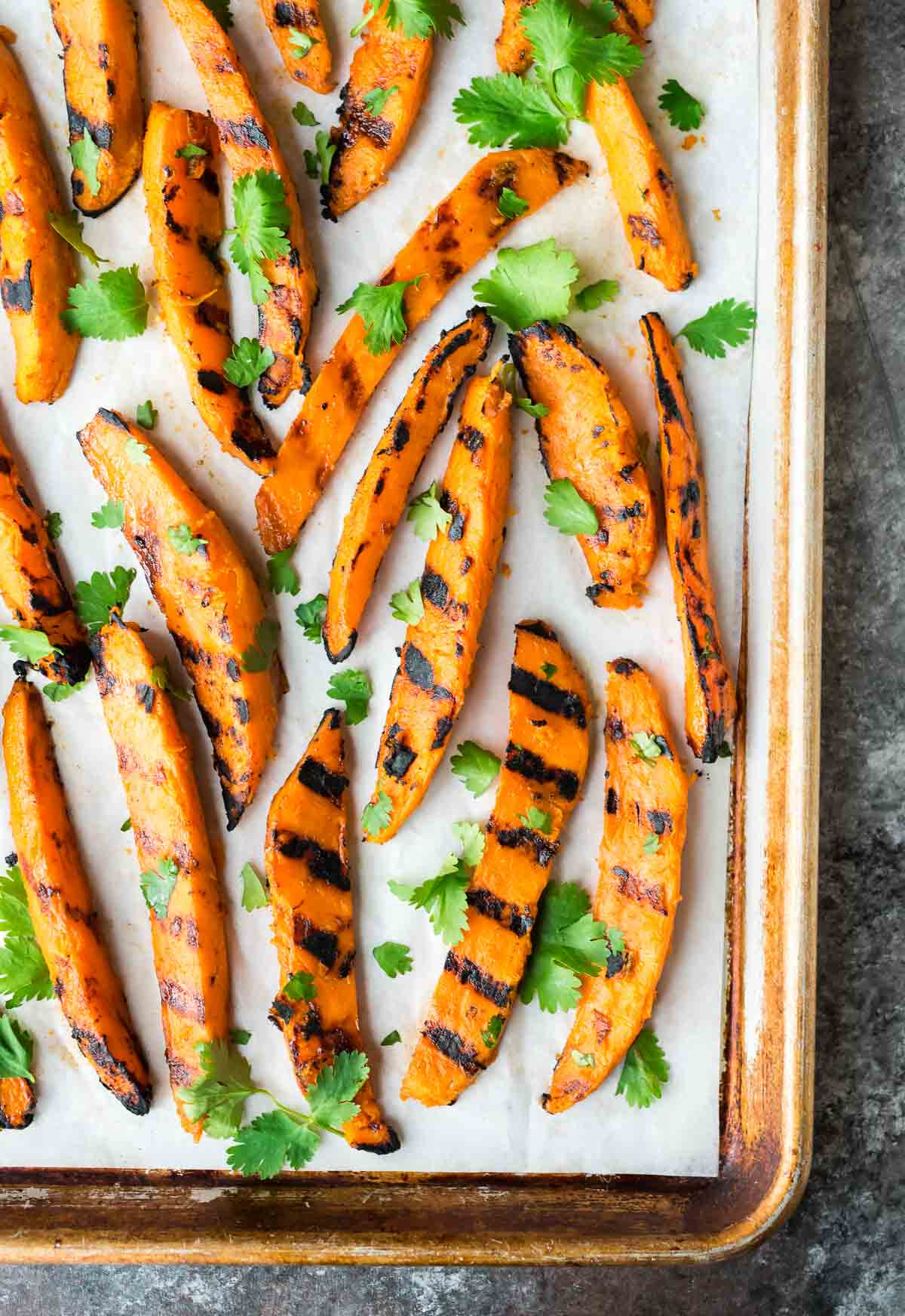 Grill Sweet Potato  Grilled Sweet Potato Fries
