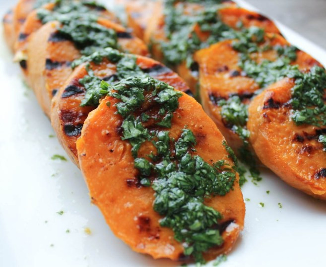 Grill Sweet Potato  Top 10 Memorial Day Grilling Recipes Domesticate ME