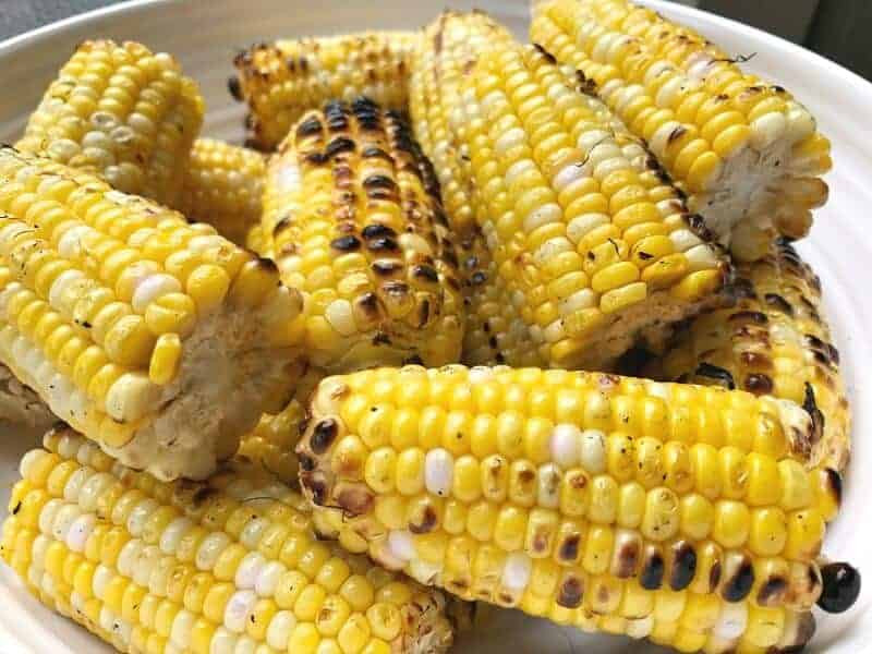 Grilled Corn On The Cob Recipe  grilled corn on the cob without husks