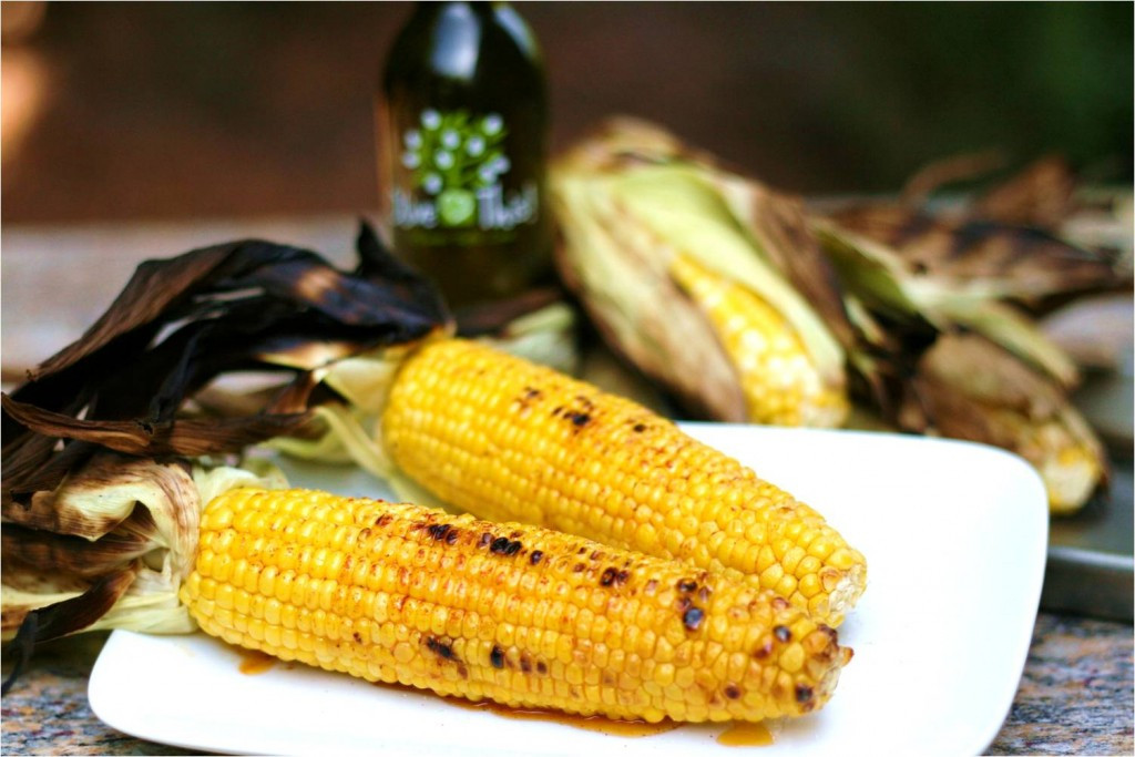 Grilled Corn On The Cob Recipe  Olive This – Recipe Grilled Corn on the Cob with