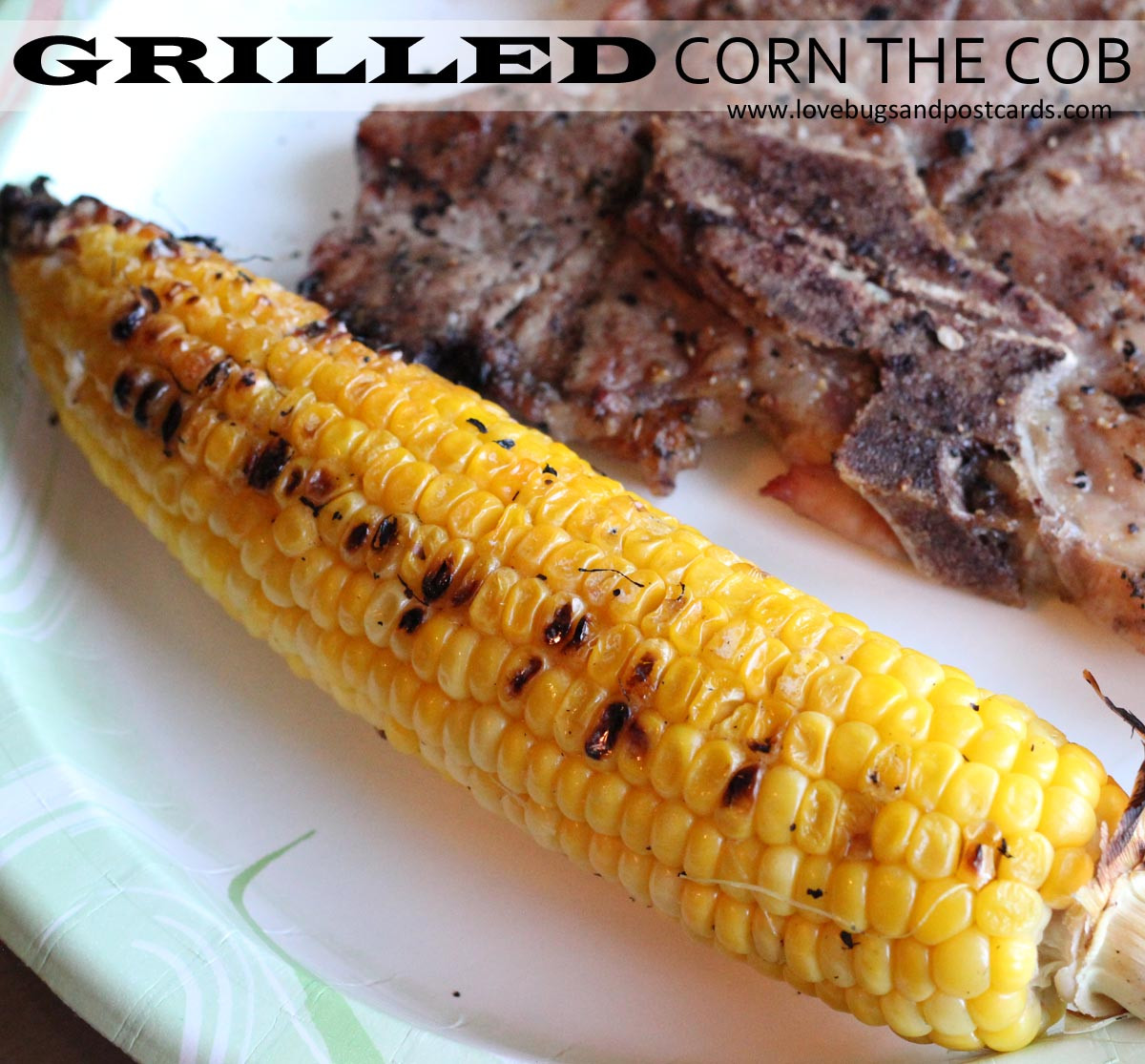 Grilled Corn On The Cob Recipe  Grilled Corn on the Cob Recipe — Dishmaps