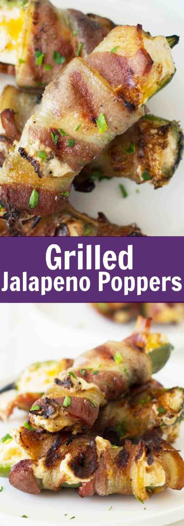 Grilled Jalapeno Poppers  Grilled Jalapeno Poppers Countryside Cravings