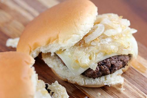 Grilled Onion Cheddar Burger  McDonald s Grilled ion Cheddar Recipe