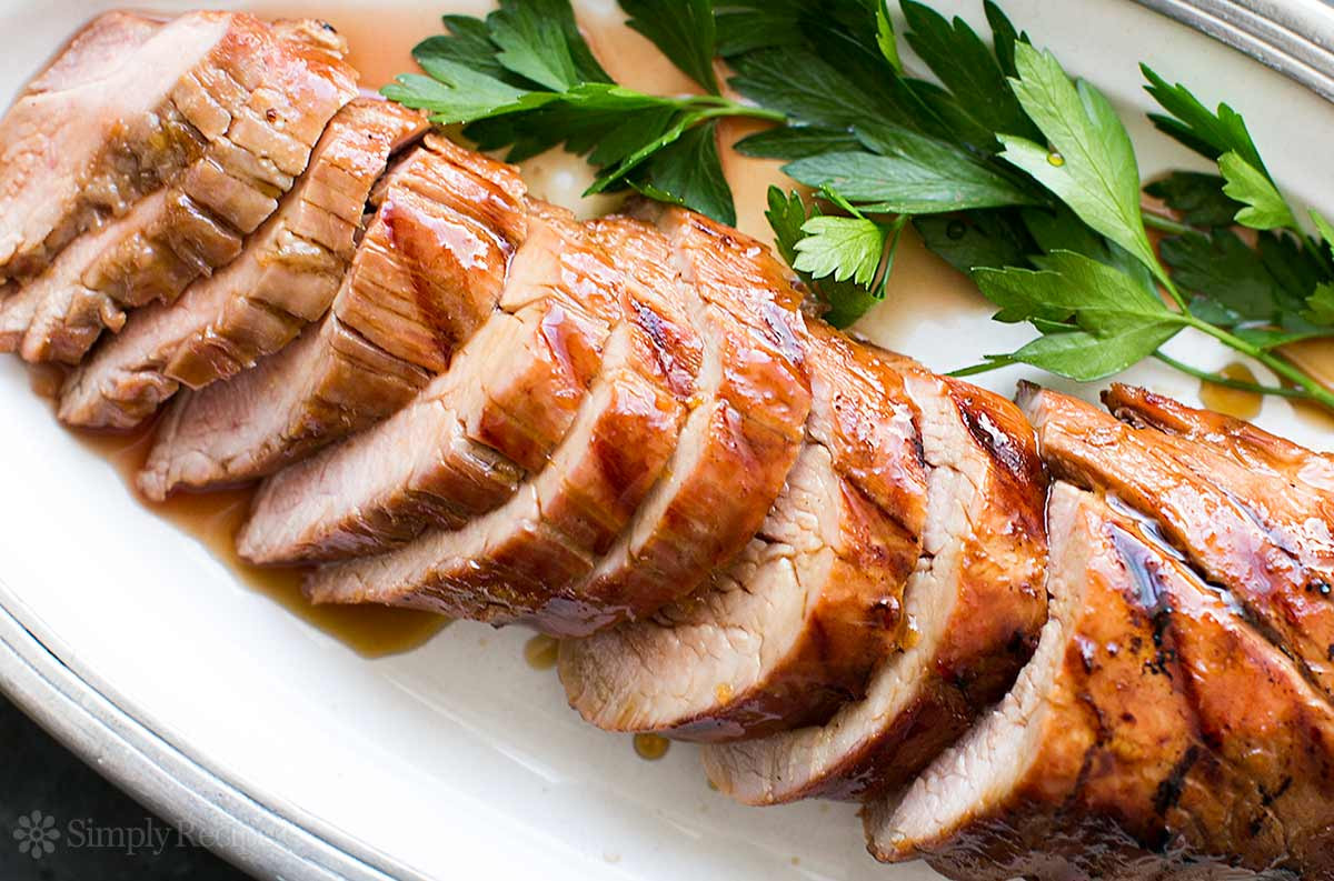 Grilled Pork Tenderloin Recipe  Grilled Pork Tenderloin with Orange Marmalade Glaze Recipe