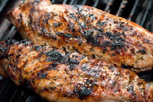 Grilled Pork Tenderloin Recipe  Garlic and Rosemary Pork Tenderloin Recipe