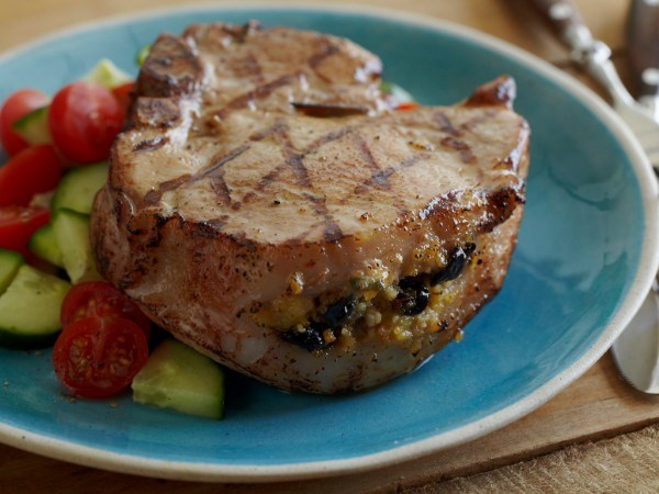 Grilled Stuffed Pork Chops  34 Ways to Dress Up the Humble Pork Chop