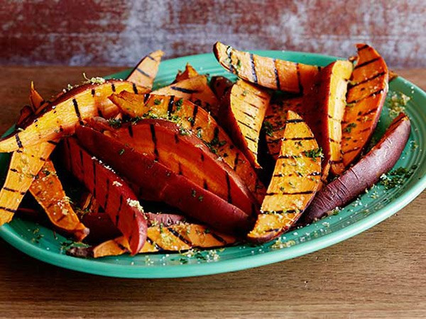 Grilled Sweet Potato Fries  20 Recipes Every Garlic Lover Should Know