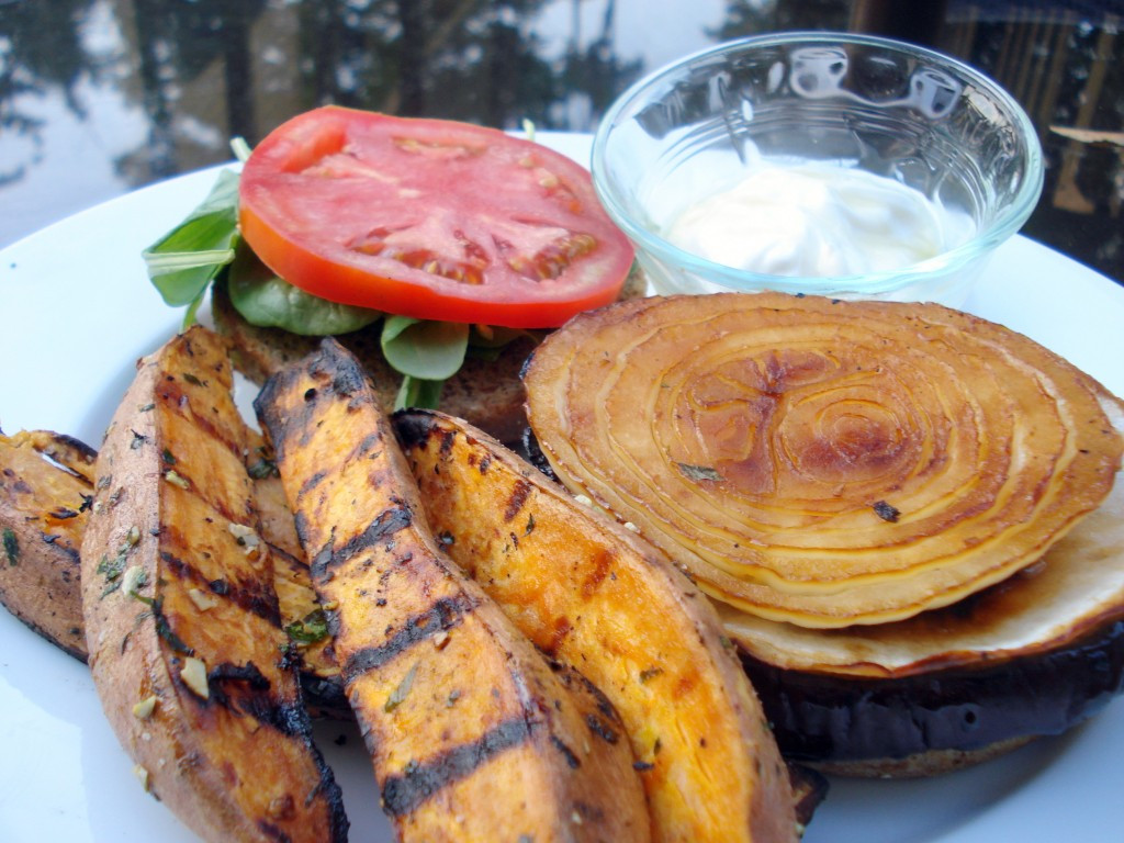 Grilled Sweet Potato Fries  Thrive Grilled Sweet Potato Fries Recipe
