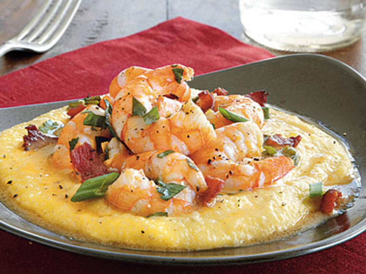 Grits And Shrimp  Cheesy Shrimp and Grits Recipe