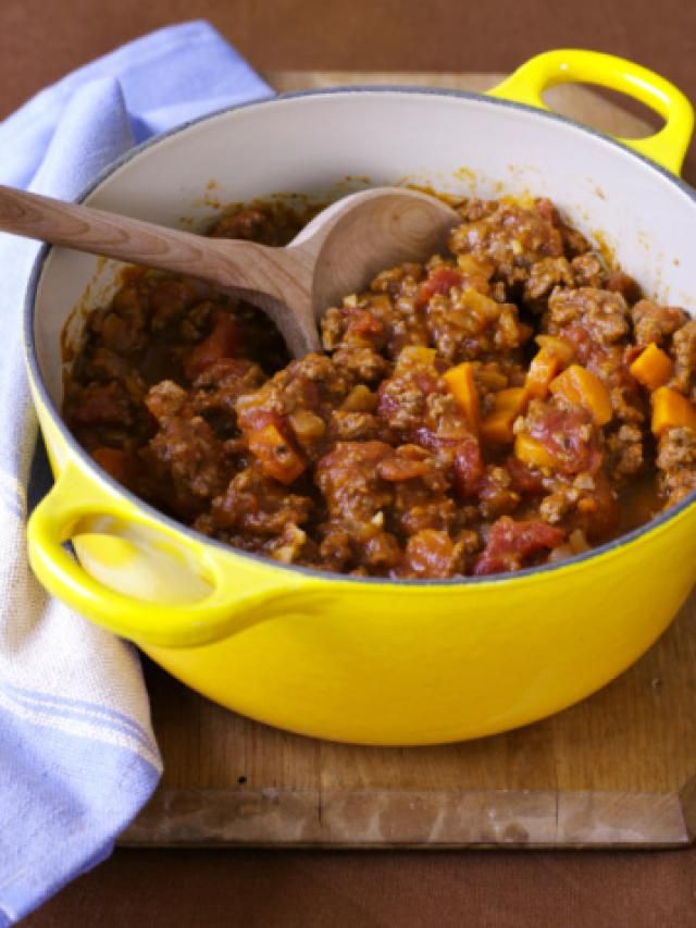 Ground Beef Chili Recipes  easy chili recipe with noodles