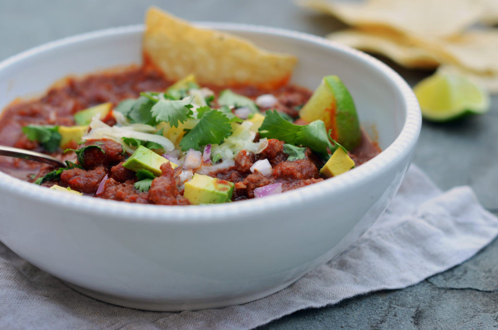Ground Beef Chili Recipes  Best Ground Beef Chili ce Upon a Chef