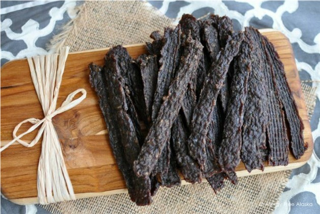 Ground Beef Jerky  Cheap & Easy Beef Jerky Strips Using Ground Beef