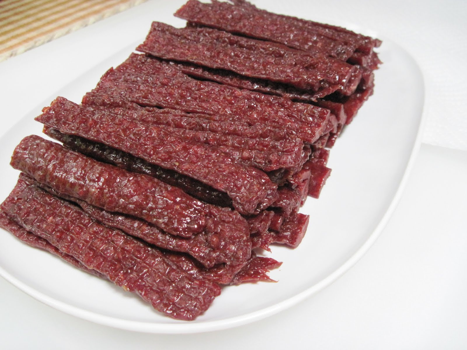 Ground Beef Jerky  Keymasters Kitchen Ground Beef Jerky