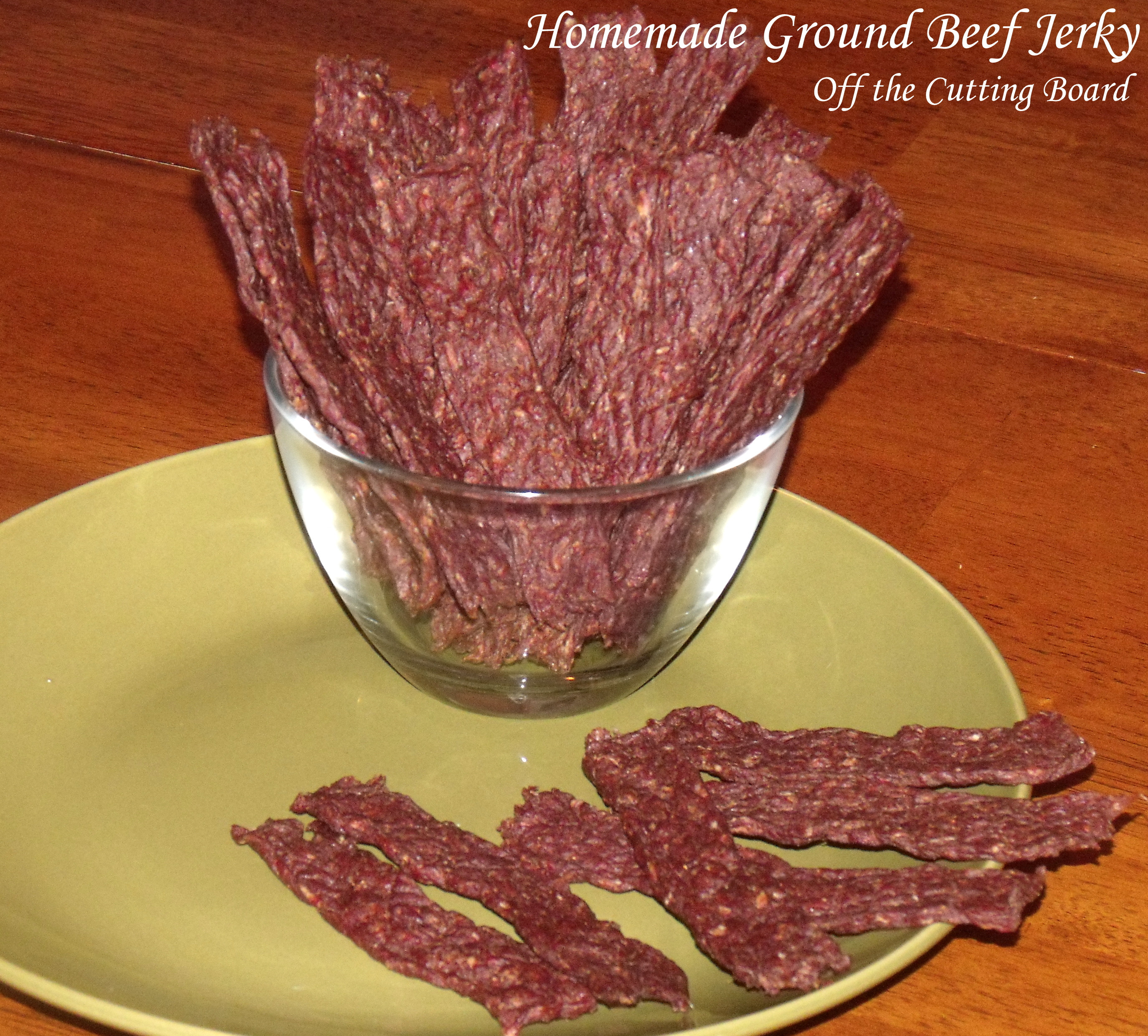 Ground Beef Jerky  Homemade Ground Beef Jerky