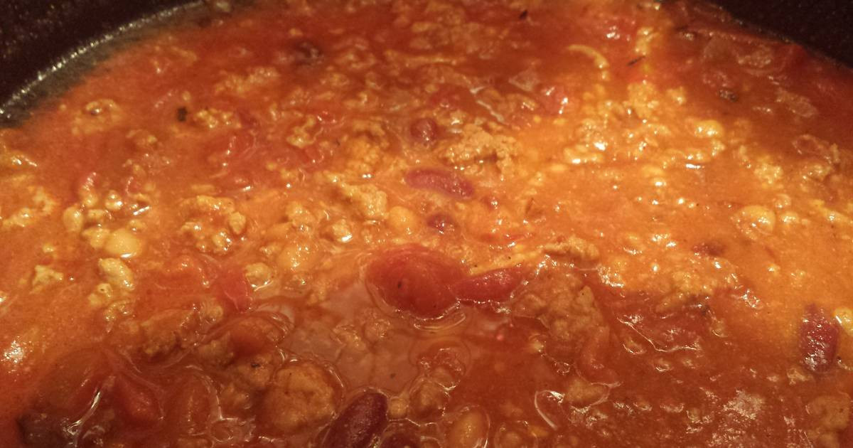 Ground Chicken Chili  Ground chicken chili recipes 25 recipes Cookpad