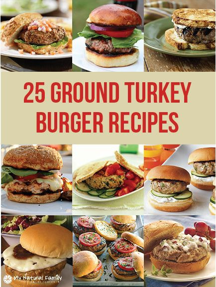 Ground Turkey Burger Recipes  25 of the Best Clean Eating Ground Turkey Burger Recipes