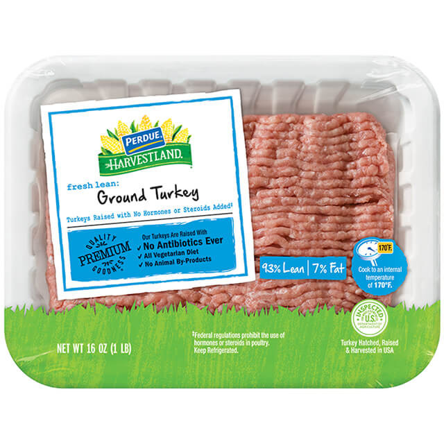 Ground Turkey Calories  Perdue 93 7 Ground Turkey Nutrition Nutrition Ftempo