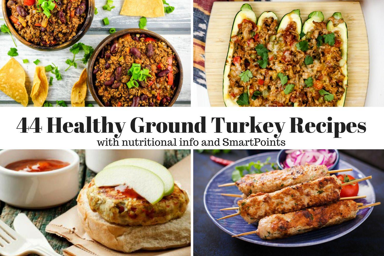 Ground Turkey Calories  Forty Four Healthy Ground Turkey Recipes Slender Kitchen