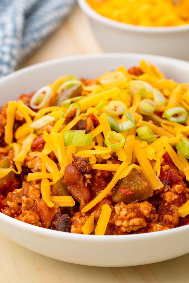 Ground Turkey Chili Recipe  ground turkey chili