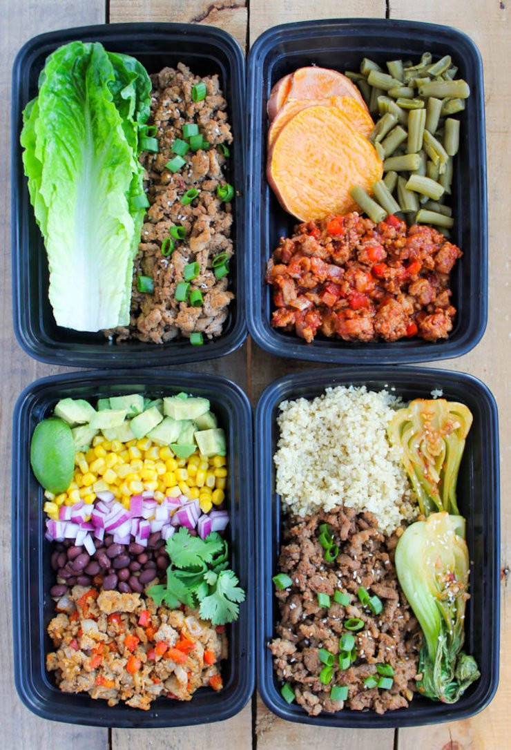 Ground Turkey Meal Prep  20 Healthy Meal Prep Bowls To Make Your Life Stress Free