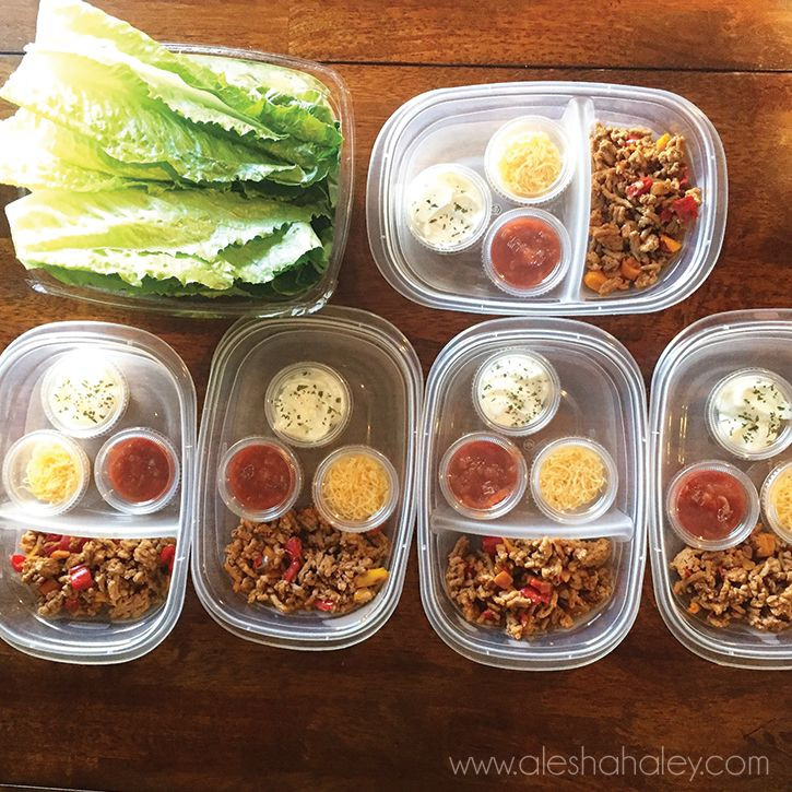 Ground Turkey Meal Prep  The 25 best Ground turkey lettuce wraps ideas on