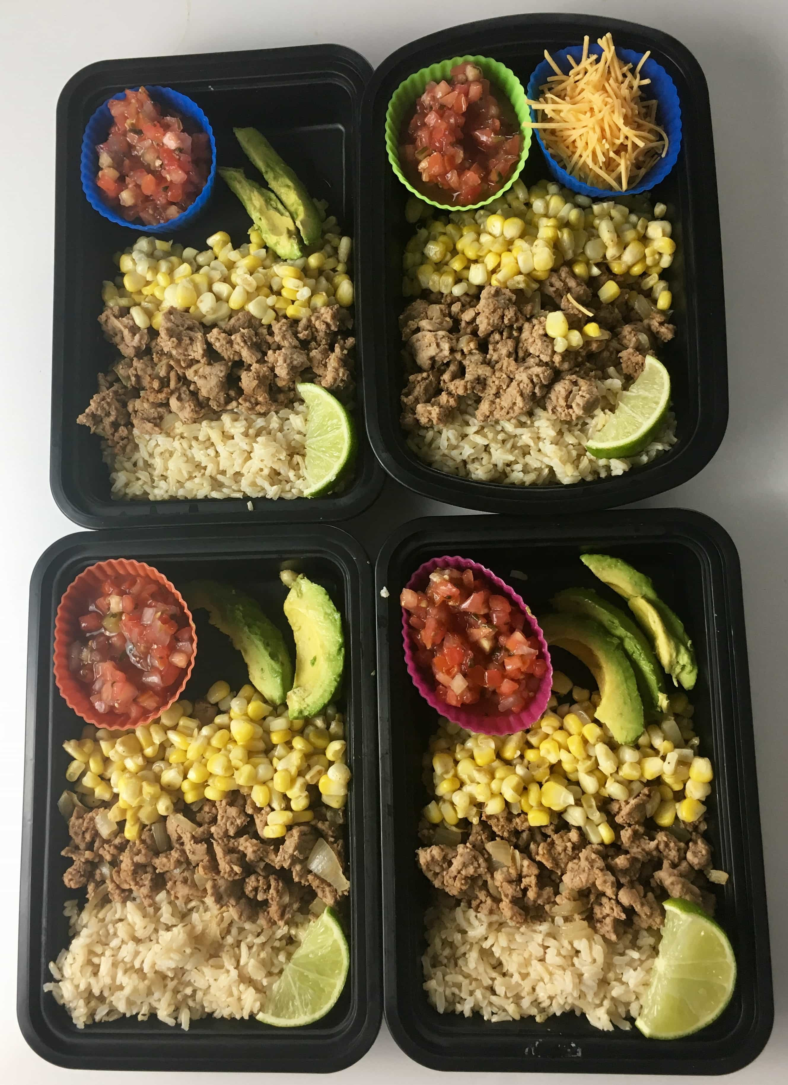 Ground Turkey Meal Prep  Ground Turkey Burrito Bowl for Meal Prep Easy Living Today