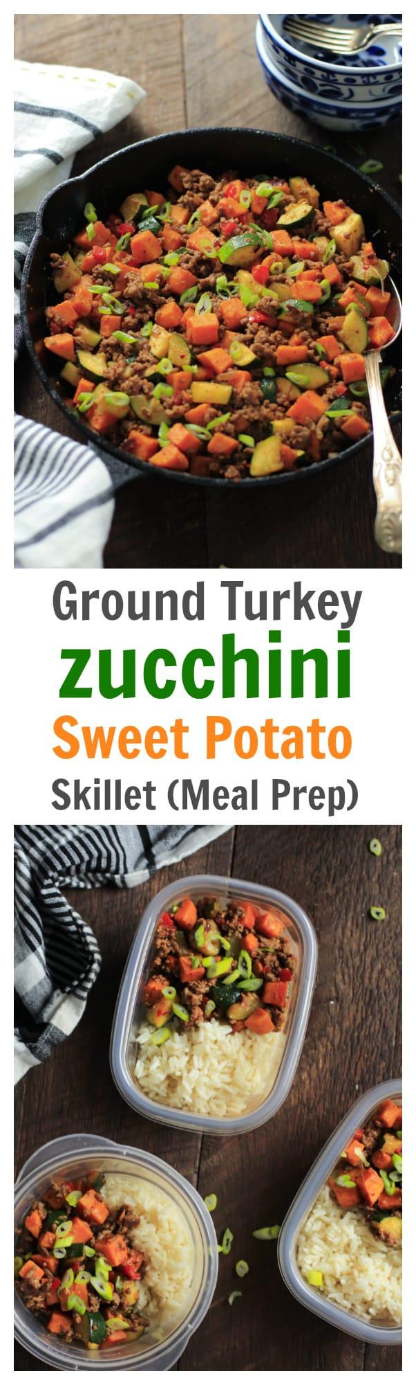 Ground Turkey Meal Prep  paleo ground beef sweet potato casserole